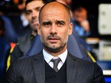 Manchester City manager Pep Guardiola looks on during his side's Premier League clash with Tottenham Hotspur at White Hart Lane on October 2, 2016