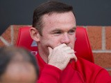 Manchester United captain Wayne Rooney on the bench during his side's 1-1 draw with Stoke City at Old Trafford on October 2, 2016