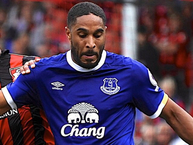 Ashley Williams in action for Everton on September 24, 2016