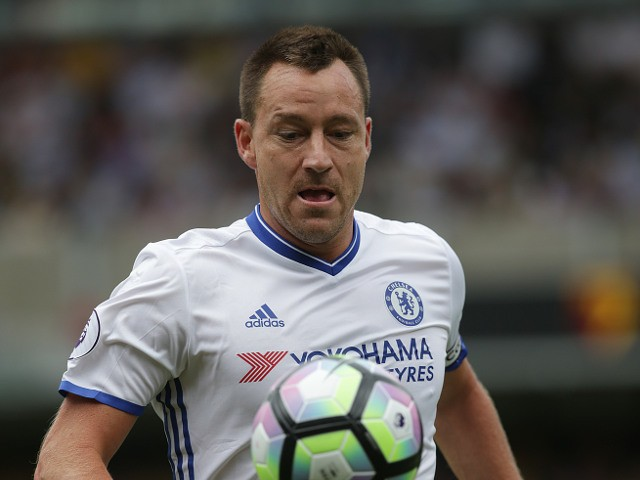 John Terry of Chelsea during the Premier League match between Watford and Chelsea at Vicarage Road on August 20, 2016