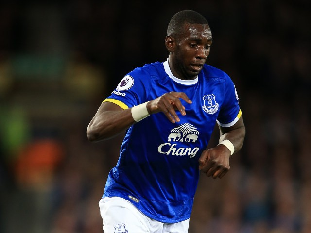 Everton winger Yannick Bolasie in action during his side's 1-1 draw with Crystal Palace at Goodison Park on September 30, 2016