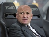 Mike Phelan watches on during the Premier League game between Hull City and Chelsea on October 1, 2016