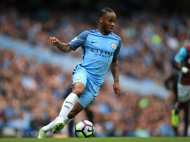 Manchester City winger Raheem Sterling in action during his side's Premier League clash with West Ham United at the Etihad Stadium on August 28, 2016
