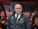 Hull City manager Mike Phelan looks on before his side's 6-1 drubbing at the hands of Bournemouth at the Vitality Stadium on October 15, 2016