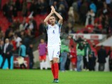 England midfielder Jordan Henderson in action during the 2-0 win over Malta in a World Cup qualifier at Wembley on October 8, 2016