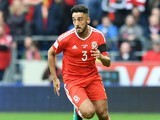 Neil Taylor in action during the World Cup qualifier between Wales and Georgia on October 9, 2016
