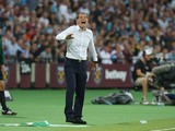 West Ham United manager Slaven Bilic during the UEFA Europa League match between West Ham United and FC Astra Giurgiu at the London Stadium on August 25, 2016