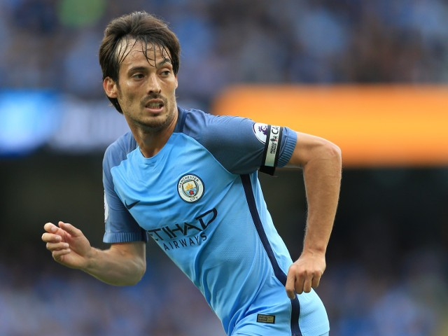 Manchester City playmaker David Silva in action during his side's Premier League clash with Sunderland at the Etihad Stadium on August 13, 2016