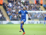 Leicester City forward Riyad Mahrez in action during his side's Premier League clash with Crystal Palace at the King Power Stadium on October 22, 2016