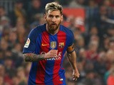 Lionel Messi in action for Barcelona during their La Liga clash with Granada at the Camp Nou on October 29, 2016