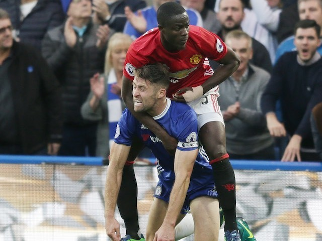 NO CAPTION NECESSARY during the Premier League game between Chelsea and Manchester United on October 23, 2016