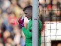 Sunderland goalkeeper Jordan Pickford in action during his side's Premier League clash with Bournemouth at the Vitality Stadium on November 5, 2016