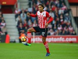 Southampton defender Virgil van Dijk in action during his side's Premier League clash with Chelsea at St Mary's Stadium on October 30, 2016