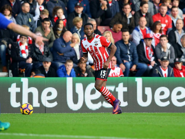 Southampton defender Cuco Martina in action during his side's Premier League clash with Chelsea at St Mary's Stadium on October 30, 2016