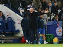 Leicester City manager Claudio Ranieri gestures on the touchline during his side's Premier League clash with West Bromwich Albion at the King Power Stadium on November 6, 2016