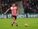 Cedric Soares in action during the Premier League game between Southampton and Liverpool on November 19, 2016