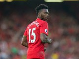Liverpool striker Daniel Sturridge in action during his side's Premier League clash with Leicester City at Anfield on September 10, 2016