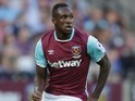 Michail Antonio in action for West Ham United on September 25, 2016