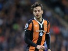 Ryan Mason in action for Hull City on October 1, 2016