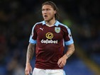 Jeff Hendrick in action for Burnley on September 26, 2016