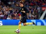 Antoine Griezmann in action for Atletico Madrid on September 21, 2016