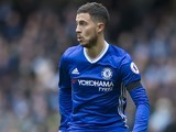 Eden Hazard in action for Chelsea on December 3, 2016