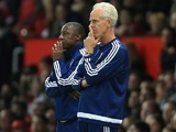 Ipswich Town manager Mick McCarthy and assistant Terry Connor on September 23, 2015