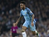 Raheem Sterling in action during the Premier League game between Manchester City and Arsenal on December 18, 2016