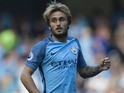 Aleix Garcia in action for Manchester City on September 17, 2016