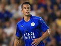 Luis Hernandez in action for Leicester City on August 19, 2016