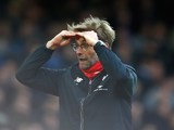 Jurgen Klopp watches on during the game between West Ham and Liverpool on January 2, 2016