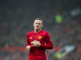 Manchester United captain Wayne Rooney in action during his side's FA Cup third round clash with Reading at Old Trafford on January 7, 2017