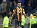 Hull City midfielder Tom Huddlestone in action during his side's Premier League clash with Bournemouth at the KCOM Stadium on January 14, 2017