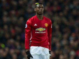 Manchester United midfielder Paul Pogba in action during the Premier League clash with Liverpool at Old Trafford on January 15, 2017
