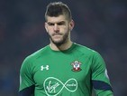 Fraser Forster in action during the EFL Cup semi-final between Liverpool and Southampton on January 25, 2017