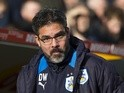 Huddersfield Town manager David Wagner at the FA Cup fifth-round match against Manchester City on February 18, 2017