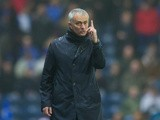 Manchester United manager Jose Mourinho watches on during his side's FA Cup fifth round clash with Blackburn Rovers at Ewood Park on February 19, 2017
