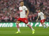 Southampton midfielder Dusan Tadic in action during his side's EFL Cup final with Manchester United at Wembley on February 26, 2017