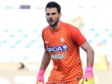 Orestis Karnezis in action during the Serie A game between Lazio and Udinese on February 26, 2017