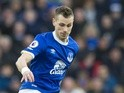Morgan Schneiderlin in action for Everton against Sunderland on February 25, 2017