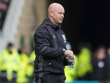 Steve Agnew on the touchline during the Premier League game between Middlesbrough and Manchester United on March 19, 2017