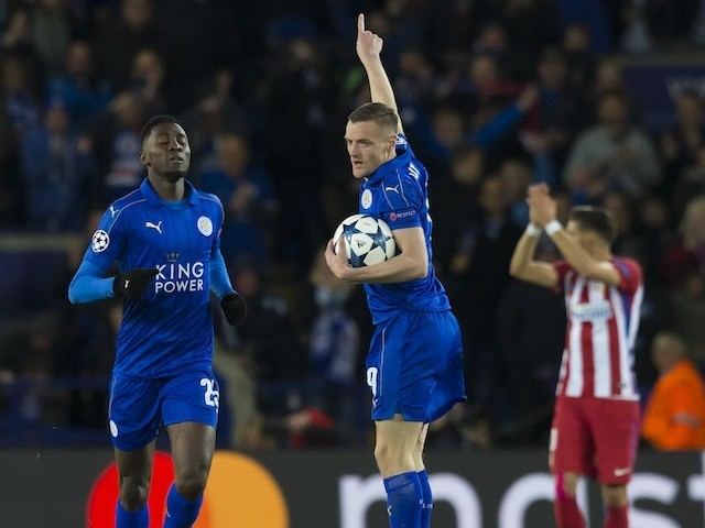 Jamie Vardy says Leicester 'proud' as they bow out of Champions League