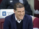 West Ham United manager Slaven Bilic during the Premier League match against Tottenham Hotspur on May 5, 2017