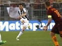 Juventus's Leonardo Bonucci in action against Roma on May 14, 2017