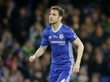 Chelsea's Cesc Fabregas during the Premier League match against Watford on May 15, 2017