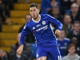 Chelsea's Eden Hazard in action during the Premier League match against Watford on May 15, 2017