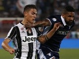 Paulo Dybala and Wallace during the Coppa Italia final between Juventus and Lazio on May 17, 2017