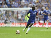 Chelsea's Victor Moses during the FA Cup final against Arsenal on May 27, 2017