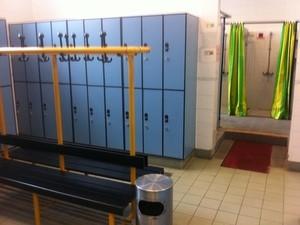 Generic image of a locker room