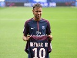 Neymar is unveiled as a Paris Saint-Germain player on August 4, 2017